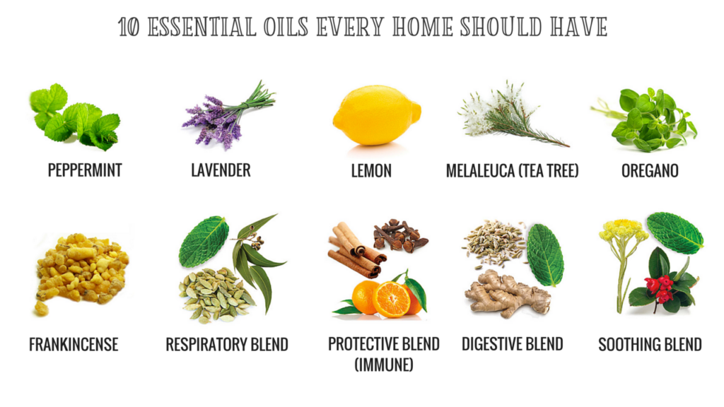 10 Essential Oils Every Home Should Have